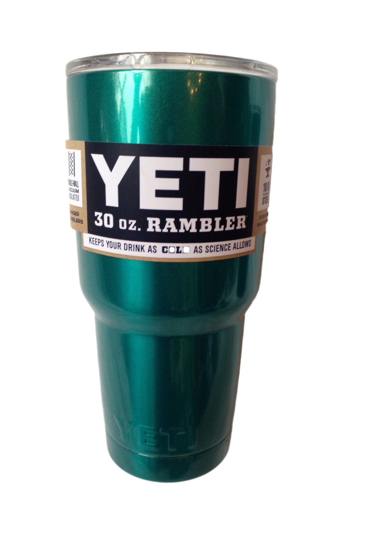 YETI Rambler Tumbler 30oz. Matte Black Powder Coat - 904 ...