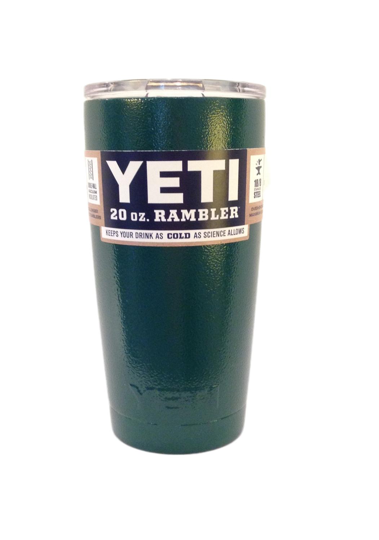 YETI Rambler Tumbler 20oz  Big Green Egg Powder Coat